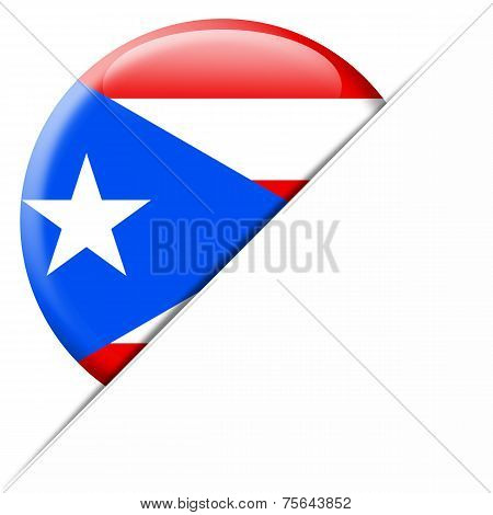Puerto Rico Pocket Flag