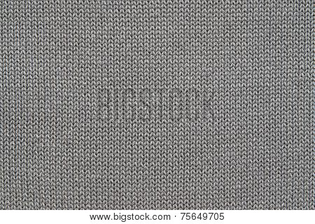 abstract texture of the knitted fabric or woven in the form of herringbone for backgrounds of black gray color poster