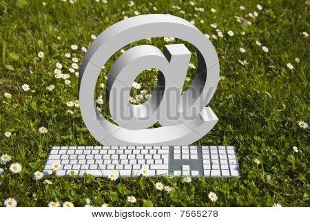 Internet In Garden!