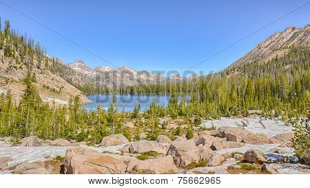 Upper Cramer Lake, Sawtooth National Recreation Area, ID
