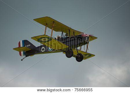 Raf Se5A Vintage Fighter Aircraft