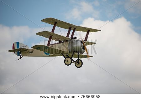 Vintage British  Sopwith Triplane
