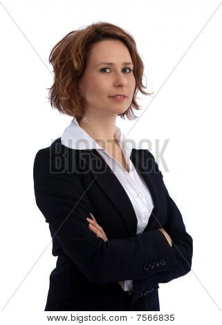 Attractive, Young Businesswoman