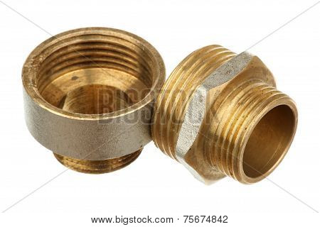 Two Brass Fittings