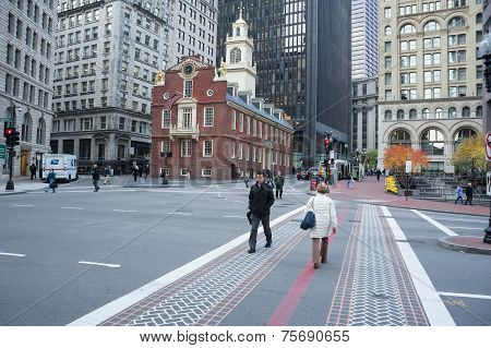 Boston Old State House and Freedom Trail