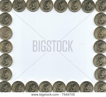 gold coin border