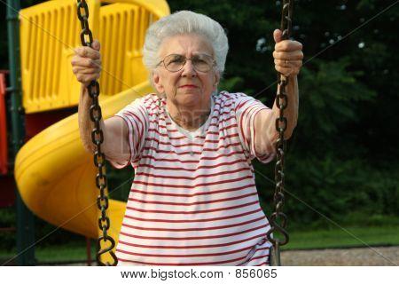 Swinging Grandmother 10