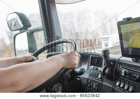 Driving Truck