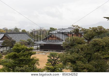 traditional building in Osaka Temple