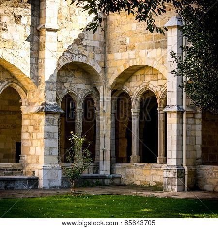 Santander Cathedral, A Corner Of The Cloister
