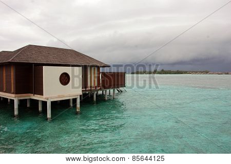 Bungalow At Concrete Pile Maldives