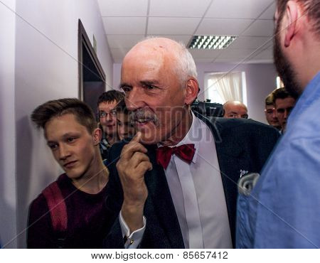 Janusz Korwin Mikke, Candidate For President Of The Republic Poland