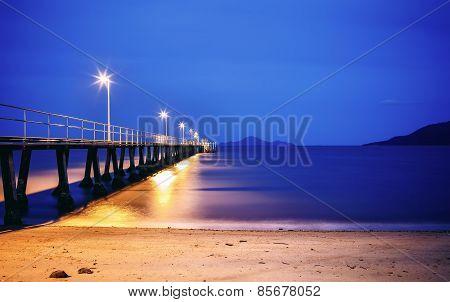 Whitehaven beach in Australia