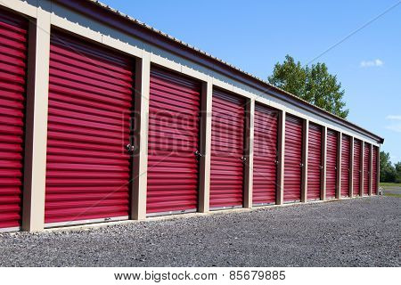 Mini Self Storage Rental Units