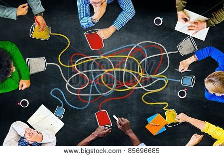 Communicate Communication Telecommunication Connection Calling Concept