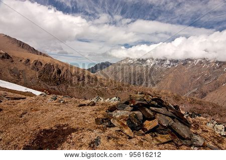 View Of Caucasus Mountains