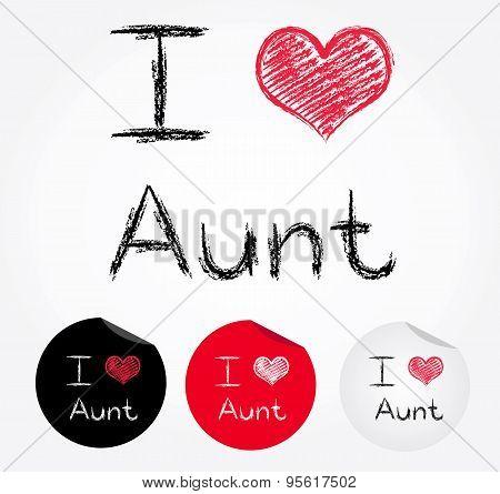 I Love Aunt