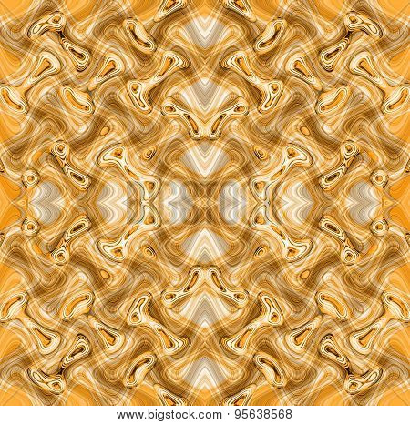 Seamless Pattern Or Background In Pale Orange