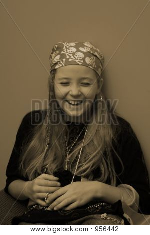Pirate Girl Laugh