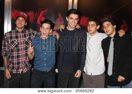 LOS ANGELES - JUL 7:  The Janoskians at the