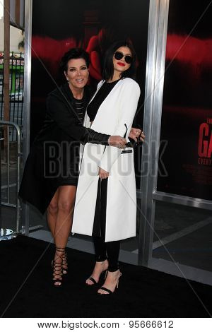 LOS ANGELES - JUL 7:  Kris Jenner, Kylie Jenner at the
