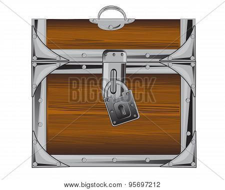 Locked coffer