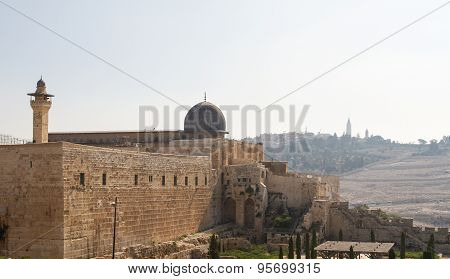 Southern Wall Of Temple Mount