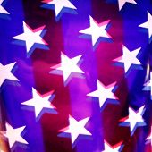 Instagram filtered image of American Flag for 4th of july, veterans day, labor day, memorial day poster