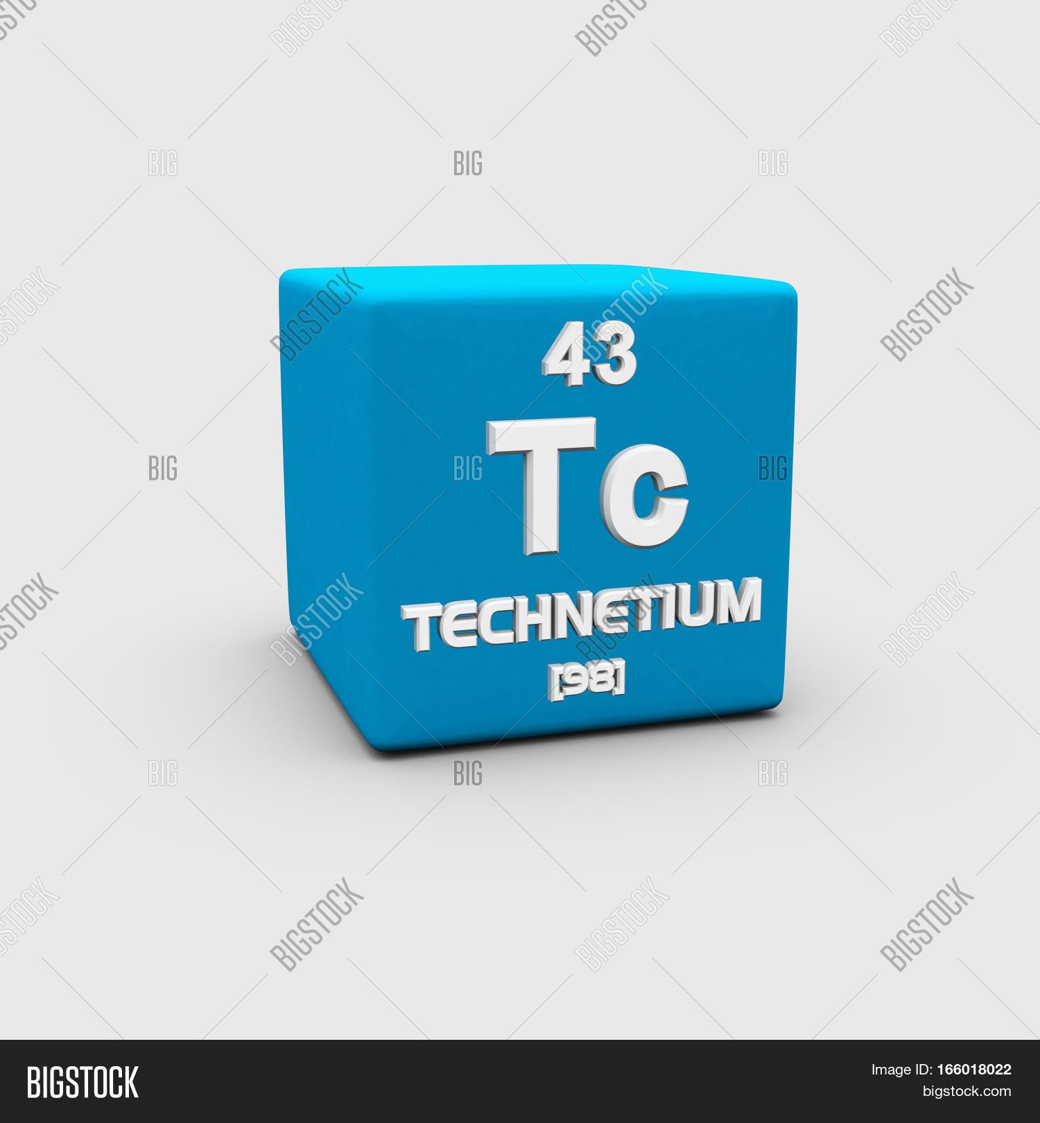 Technetium Chemical Image Photo Free Trial Bigstock