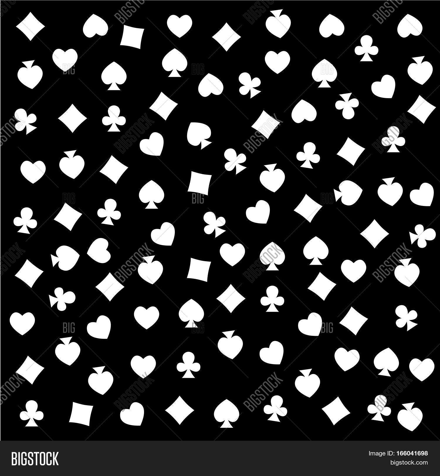 Seamless pattern made out casino image photo bigstock the seamless pattern made out of casino symbols heart diamond spade and clubs background biocorpaavc Gallery