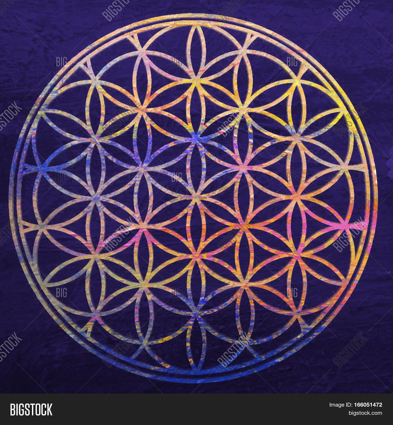 Flower life sacred image photo free trial bigstock flower of life sacred geometry lotus flower mandala ornament esoteric or spiritual izmirmasajfo