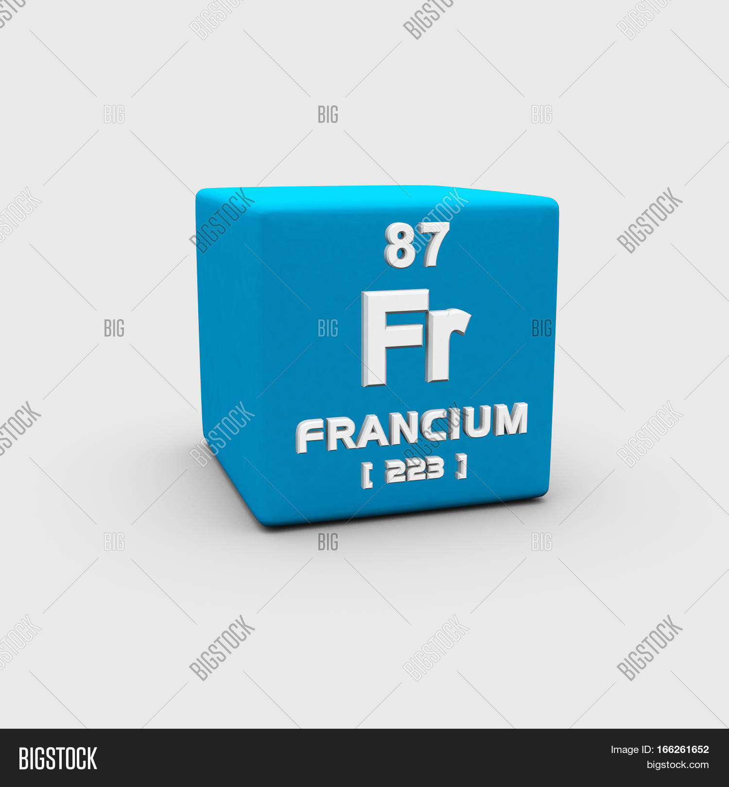 Francium Chemical Image Photo Free Trial Bigstock