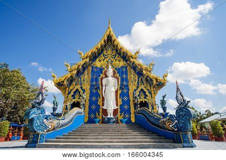 Wat Rong Suaten is the public temple.This is the most popular temple in Chiang Rai Thailand.