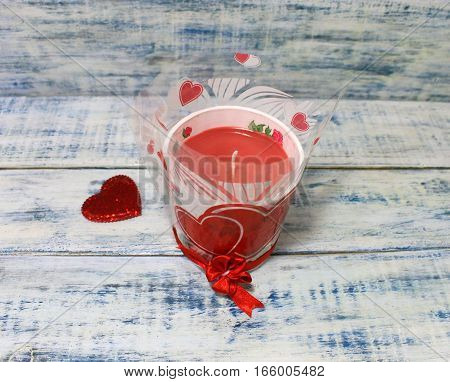 Candle for Valentine's Day or Easter gift