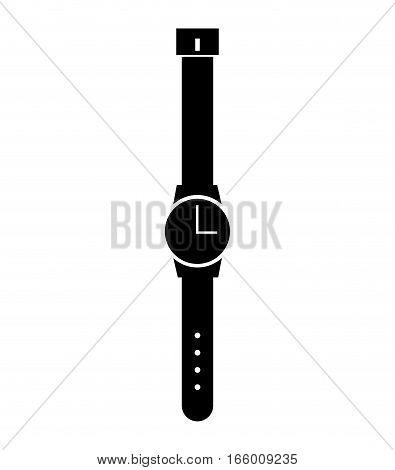 masculine hand watch icon vector illustration design