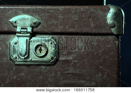 Close-up Of A Suitcase