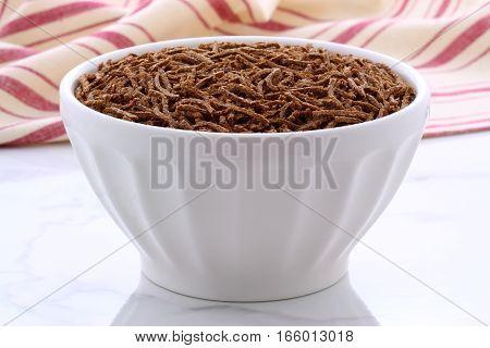 Vintage Bran Cereal Breakfast