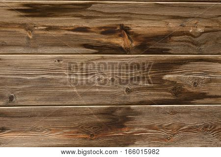 old wooden brown table top top view