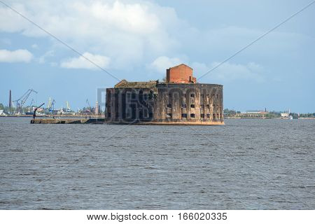 View of an ancient sea fort
