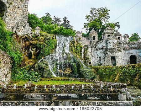 Hdr Villa Este Gardens
