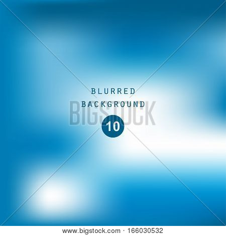 Bright colorful modern smooth juicy blue white gradient color abstract background . Vector illustration blurred color blur gradient business graphic image soft ethereal backdrop template