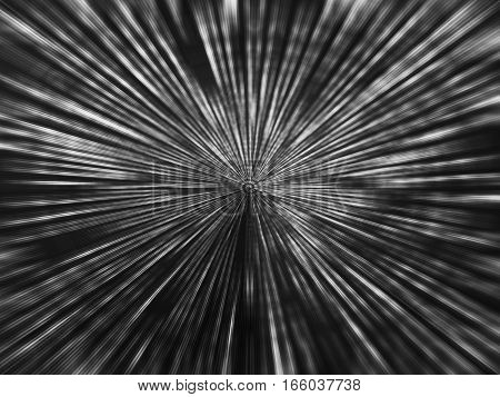 Black and white space teleport illustration background hd