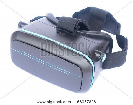 Virtual reality glasses isolated on white background