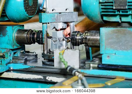 In Factory On The Machine