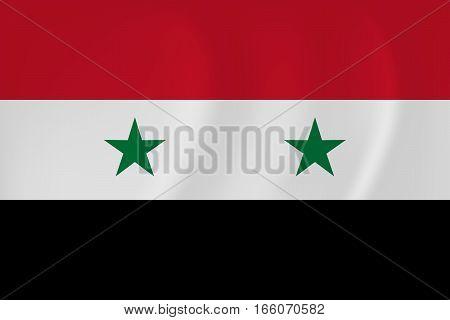 Syria Waving Flag
