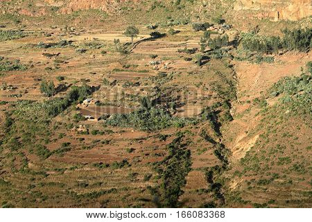 The Rift Valley of Ethiopia in Africa poster