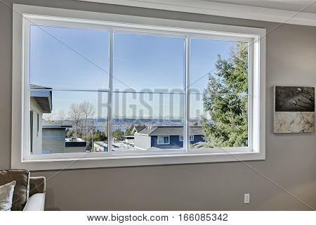Stunning View Of Lake Washington From Bedroom Window