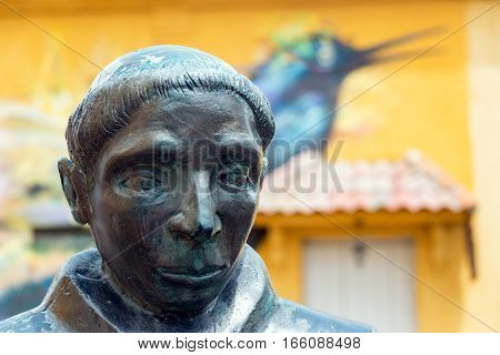 Statue In Cartagena