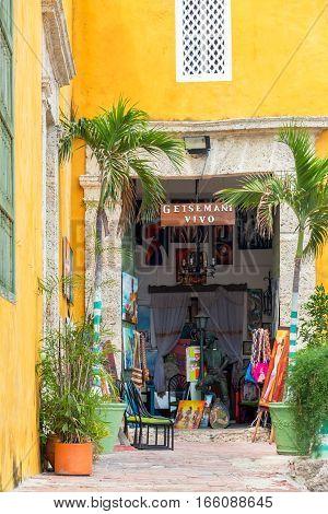 Small Shop In Cartagena