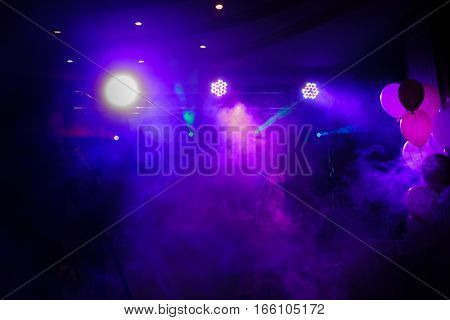 Disco Lights And Show
